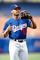 Gary Sheffield of the Los Angeles Dodgers participates in a Major League Baseball game at Dodger Stadium during the 1998 season in Los Angeles, California. (Larry Goren/Four Seam Images)