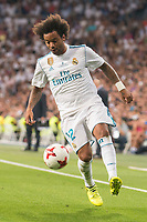 Real Madrid's Marcelo during Supercup of Spain 2nd match at Santiago Bernabeu Stadium in Madrid, Spain August 16, 2017.  *** Local Caption *** © pixathlon +++ tel. +49 - (040) - 22 63 02 60 - mail: info@pixathlon.de