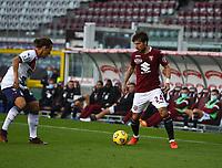 Torino 08-11-2020<br /> Stadio Grande Torino<br /> Campionato Serie A Tim 2020/21<br /> Torino - Crotone <br /> nella foto: Verdi Simone                         <br /> foto Antonio Saia -Kines Milano