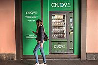 distributore automatico prodotti derivati da canapa light