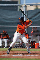 San Francisco Giants Chris Shaw (58) during an instructional league game against the Oakland Athletics on October 12, 2015 at the Giants Baseball Complex in Scottsdale, Arizona.  (Mike Janes/Four Seam Images)