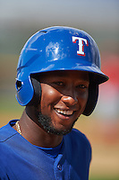 Texas Rangers Jurickson Profar (13) during an instructional league game against the Los Angeles Angels / Chicago Cubs co-op team on October 5, 2015 at the Surprise Stadium Training Complex in Surprise, Arizona.  (Mike Janes/Four Seam Images)