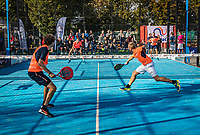 Netherlands, September 6,  2020, Amsterdam, Padel Dam, NK Padel, National Padel Championships, Men's doubles final: <br /> Photo: Henk Koster/tennisimages.com