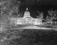 Provincial Archives of Alberta - Alberta Legislature with Christmas decotations
