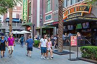 Las Vegas, Nevada.  Bars, Restaurants, Shops on The Linq Promenade.