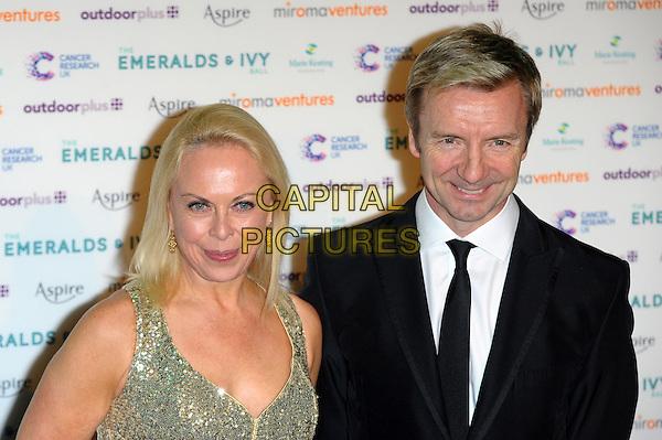 LONDON, UK, NOVEMBER 30: Jayne Torvill & Christopher Dean at the Emeralds And Ivy Ball, Old Billingsgate Market on November 30th, 2013 in London, England.<br /> CAP/CJ<br /> ©Chris Joseph/Capital Pictures