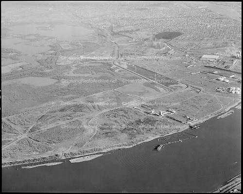 "Ackroyd 12367-03 ""Port of Portland. Rivergate Aerials. Ash Grove, Freightliner. March 24, 1964"""