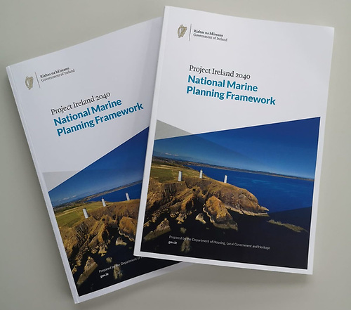 The National Marine Planning Framework (NMPF) was launched at Dun Laoghaire Harbour