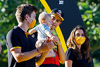 18th July 2021; Paris, France;  VAN AERT Wout (BEL) of JUMBO-VISMA victory during stage 21 of the 108th edition of the 2021 Tour de France cycling race, the stage of 108,4 kms between Chatou and finish at the Champs Elysees in Paris.