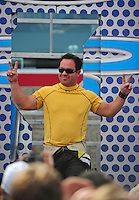 Nov. 2, 2008; Las Vegas, NV, USA: NHRA top fuel dragster driver Rod Fuller during the Las Vegas Nationals at The Strip in Las Vegas. Mandatory Credit: Mark J. Rebilas-