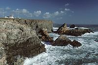 Europe/France/Bretagne/56/Morbihan/Belle-île/Pointe du Talut: La pointe et le sémaphore