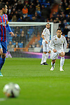Real Madrid´s Chicharito during 2014-15 La Liga match between Real Madrid and Levante UD at Santiago Bernabeu stadium in Madrid, Spain. March 15, 2015. (ALTERPHOTOS/Luis Fernandez)