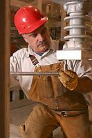 Construction worker, Fairbanks, Alaska