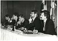 James Kelleher<br /> , Ministre du Commerce exterieur<br /> , le 1er avril 1985<br /> <br /> PHOTO : Agence Quebec Presse