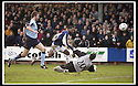 25/1/03       Copyright Pic : James Stewart                  .File Name : stewart-falkirk v hearts 08.COLLIN SAMUEL SCORES FALKIRK'S SECOND GOAL......James Stewart Photo Agency, 19 Carronlea Drive, Falkirk. FK2 8DN      Vat Reg No. 607 6932 25.Office : +44 (0)1324 570906     .Mobile : + 44 (0)7721 416997.Fax     :  +44 (0)1324 570906.E-mail : jim@jspa.co.uk.If you require further information then contact Jim Stewart on any of the numbers above.........