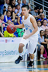 On Ka Chung #8 of Fukien Basketball Team dribbles the ball up court against the Eastern Long Lions during the Hong Kong Basketball League game between Fukien and Eastern Long Lions at Southorn Stadium on June 19, 2018 in Hong Kong. Photo by Yu Chun Christopher Wong / Power Sport Images