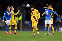 Lionel Messi of FC Barcelona dejection <br /> Napoli 25-02-2020 Stadio San Paolo <br /> Football Champions League 2019/2020 - Round 16, 1st leg<br /> SSC Napoli - FC Barcelona<br /> Photo Antonietta Baldassarre / Insidefoto