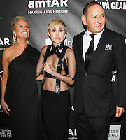 HOLLYWOOD, LOS ANGELES, CA, USA - OCTOBER 29: Miley Cyrus, John Demsey arrive at the 2014 amfAR LA Inspiration Gala at Milk Studios on October 29, 2014 in Hollywood, Los Angeles, California, United States. (Photo by Celebrity Monitor)