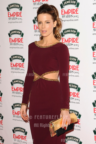 Kate Beckinsale<br /> arives for the Empire Magazine Film Awards 2014 at the Grosvenor House Hotel, London. 30/03/2014 Picture by: Steve Vas / Featureflash
