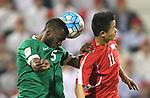 DPR Korea vs Saudi Arabia during the AFC U23 Championship 2016 Group B match on January 16, 2016 at the Grand Hamad Stadium in Doha, Qatar. Photo by Fadi Al-Assaad  / Lagardère Sports