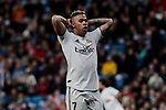 Real Madrid's Mariano Diaz during La Liga match between Real Madrid and SD Huesca at Santiago Bernabeu Stadium in Madrid, Spain. March 31, 2019. (ALTERPHOTOS/A. Perez Meca)