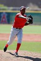 Vladimir Veras - Los Angeles Angels - 2009 spring training.Photo by:  Bill Mitchell/Four Seam Images