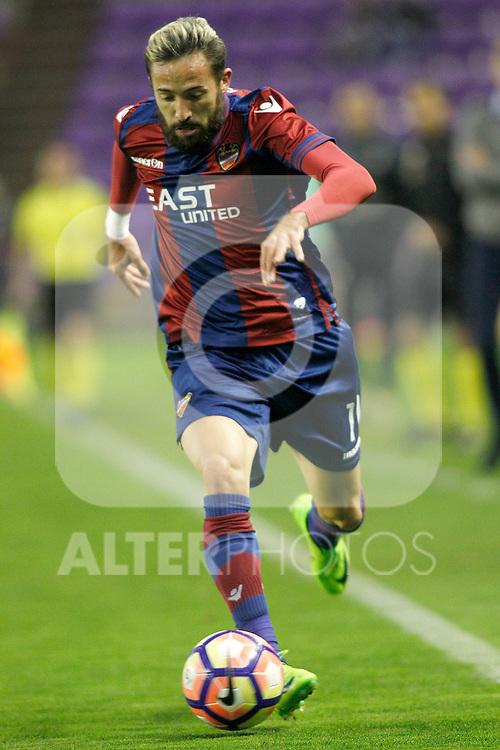Levante UD's Jose Luis Morales during La Liga Second Division match. March 11,2017. (ALTERPHOTOS/Acero)