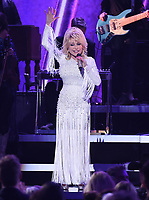 NASHVILLE, TN - NOVEMBER 13: Dolly Parton performs on the 53rd Annual CMA Awards at the Bridgestone Arena on November 13, 2019 in Nashville, Tennessee. (Photo by Frank Micelotta/PictureGroup)