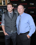 Kellan Lutz & his father at the Warner Bros. Premiere of Inception held at The Grauman's Chinese Theatre in Hollywood, California on July 13,2010                                                                               © 2010 Debbie VanStory / Hollywood Press Agency