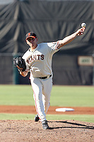 Eric Surkamp - San Francisco Giants 2009 Instructional League .Photo by:  Bill Mitchell/Four Seam Images..