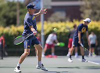 Cal Tennis M vs USC, April 8, 2017