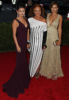 """NEW YORK CITY, NY, USA - MAY 05: Selena Gomez, Diane Von Furstenberg, Jessica Alba at the """"Charles James: Beyond Fashion"""" Costume Institute Gala held at the Metropolitan Museum of Art on May 5, 2014 in New York City, New York, United States. (Photo by Xavier Collin/Celebrity Monitor)"""