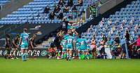 21st August 2020; Ricoh Arena, Coventry, West Midlands, England; English Gallagher Premiership Rugby, Wasps versus Worcester Warriors; Warriors win the lineout