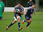 Whetu Douglas. Maori All Blacks Tour of Fiji. Training at Kings College, Otahuhu, Auckland. July 7 2015. Photo: Marc Weakley