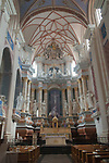 Kaunas Lithuania Cathedral of Saint Peter and St Paul interior 2017 2010s,