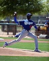 Yadier Alvarez - Los Angeles Dodgers 2016 spring training (Bill Mitchell)