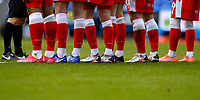 13th February 2021; Madejski Stadium, Reading, Berkshire, England; English Football League Championship Football, Reading versus Millwall; A collection of Nike football boots worn by both the Millwall players and Referee