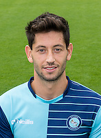 Joe Jacobson of Wycombe Wanderers during the Wycombe Wanderers 2016/17 Team & Individual Squad Photos at Adams Park, High Wycombe, England on 1 August 2016. Photo by Jeremy Nako.