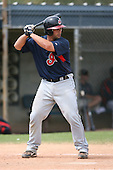 March 20th 2008:  Wyatt Toregas of the Cleveland Indians minor league system during Spring Training at Chain of Lakes Training Complex in Winter Haven, FL.  Photo by:  Mike Janes/Four Seam Images