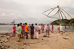 Fort Kochi beach 2017