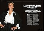 South Yorkshire Business Magazine.Pam Liversidge, Master Cutler.11th November 2011