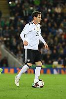 Sebastian Rudy (Deutschland Germany) - 05.10.2017: Nordirland vs. Deutschland, WM-Qualifikation Spiel 9, Windsor Park Belfast