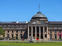 Kurhaus und Kurhausplatz, Wiesbaden, Hessen, Deutschland, Europa<br /> Casino und Kurhausplatz, Wiesbaden,  Hesse, Germany, Europe