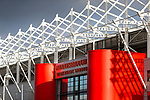 A view of The Riverside stadium Middlesbrough. 16th January 2021, Middlesbrough 0 Birmingham 1.