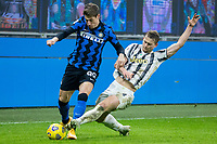 inter-juventus - Milano 2 febbraio 2021 - semifinale coppa italia - nella foto: de ligt e pinamonti