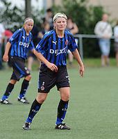 Dames Club Brugge : Isabelle Plaisier.foto VDB / BART VANDENBROUCKE