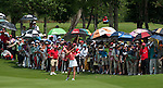 CHON BURI, THAILAND - FEBRUARY 20:  Michelle Wie of USA plays her second shot on the 1st hole during day four of the LPGA Thailand at Siam Country Club on February 20, 2011 in Chon Buri, Thailand.  Photo by Victor Fraile / The Power of Sport Images