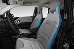 Front seat view of 2017 BMW I3 Deka-World 5 Door Hatchback Front Seat  car photos