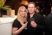 Designer Gary Jordan with his wife Debs