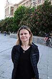Iryna Drobot, Koordinatorin bei Sant'Egidio, einer katholischen Organisation, die Obdachlose versorgt. /  Iryna Drobot, coordinator at Sant'Egidio, a Catholic organization that cares for the homeless. <br /><br />Obdachlose in Kiew während der Corona Krise. Es gibt nach inofiziellen Schätzungen bis zu 20000 Obdachlose in der ukrainischen Hauptstadt. Viel stattliche Hilfe gibt es nicht, aber kleine Organisationen versuchen das nötigste zu organisieren. / Homeless in Kiev during the Corona crisis. According to unofficial estimates, there are up to 20000 homeless people in the Ukrainian capital. There is not much help, but small organizations try to organize the most necessary.